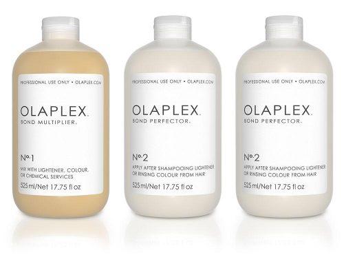 OLAPLEX….薬剤の負担を極限にまで抑えた処理剤です。カラー、パーマ、縮毛矯正など全メニュー対応型の補修、ハリ、コシ、ツヤを与える効果もあります。